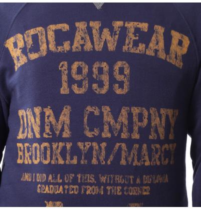 Zboží RocaWear   mikina R1208K730 new navy - graffitishop.cz c812bc92ef0